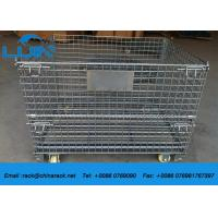 Wholesale Collapsible Assemble Wire Mesh Cages Storage, AS4084 Approval Metal Wire Cage from china suppliers