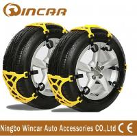 Wholesale TPU Plastic Snow Tire Chain off road vehicle accessories Wheel Antiskid TPU Chain from china suppliers