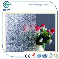 Wholesale Window / Shower doors toughened Frosted Patterned Glass for indoor / oudoor from china suppliers
