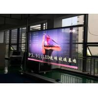 Wholesale Transparent LED Video Wall , P3.91-7.81 Glass LED Display For Shopping Mall from china suppliers