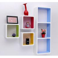 Wholesale Paint Finished Wooden Retail Display Cabinets Wall Hanging Cubes Countertop from china suppliers