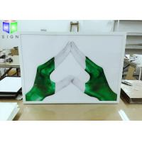 Wholesale Aluminum Snap Frame Slim Led Light Box Panels Wall Mounted Advertising from china suppliers