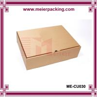 Wholesale Simple corrugated printed paper packaging box for shoe/clothing/hat ME-CU030 from china suppliers