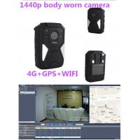 Wholesale Recoda IP67 1440p Hd 30 Fps Hidden 4G Body Camera 10M Night Vision from china suppliers