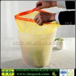 PE Plastic Drawstring Bag on Roll