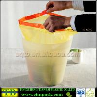 Quality PE Plastic Drawstring Bag on Roll for sale