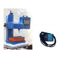 China Chassis Number Pneumatic Marking Machine Copper Brass Metal Tag Dot Peen Engraving on sale