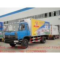 Wholesale high quality refrigerated truck for meats and frozen foods from china suppliers