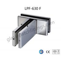 Wholesale High Tensile Patch Fittings For Glass Doors , Glass To Glass Connectors Long Lifetime from china suppliers
