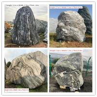 Buy cheap Natural Stone Boulders with Words,Landscaping Stone Boulders,Garden Decor Stone Boulders,Granite Rocks,Yard Stone from wholesalers