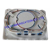 Wholesale Optical Fiber Patch Panel 4 Port Fiber Optic Terminal Box With SC Connector from china suppliers