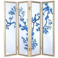Wholesale Tempered Movable Decorative Glass Partition For Sliding Door , Background from china suppliers
