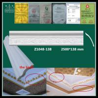 Buy cheap Chinese manufacturer interior decorative gypsum plaster gesso cornice from wholesalers