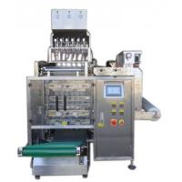 Quality 8 Lanes Automatic Liquid Packing Machine For  Water / Detergent , 3 / 4 Sides Seal Type for sale