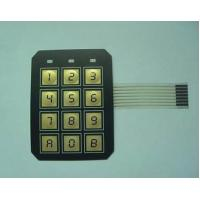 Wholesale Electrical PC / PVC Waterproof Membrane Switch With 3M9448 / LES300 Adhesive from china suppliers