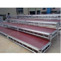 Wholesale Lightweight Movable Aluminum Portable Staging Systems Safety With Wheels from china suppliers
