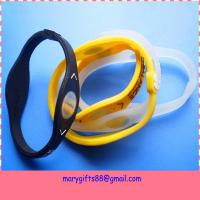 Wholesale Power Disc Energy Cheap Balance Power Silicone Bracelet from china suppliers