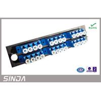 Wholesale Removable 24 Port Fiber Optic Patch Panel , cables optical distribution box from china suppliers