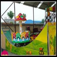 Wholesale New  amusement park rides kids track rides double wave sliding car fairground rides from china suppliers