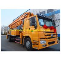 Wholesale Sinotruk concrete pump truck Superior 24 meters with HOWO chassis  truck mounted pump from china suppliers