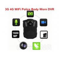 Wholesale Portable IP67 1080P Police Video Body Worn Camera 3G 4G WiFi for Evidence Recording from china suppliers
