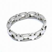Wholesale 316L Stainless Steel Bracelet, Customized Designs Welcomed from china suppliers