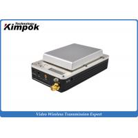 Wholesale 20km UAV Mini HD Wireless Transmitter , COFDM Video Transmitter and Receiver for Drones from china suppliers