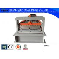 Wholesale PLC Control 0.6-1.0MM Thickness Color Steel Roof Panel Roll Forming Machine Used 1000MM Coil from china suppliers