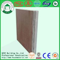 Buy cheap HZSY lightweight fireproof eps cement sandwich panel factory in hubei from wholesalers