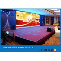 Wholesale Die-Casting Aluminum P4 Indoor LED Screens For Stage Background 62500 Pixels / m2 from china suppliers