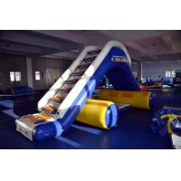 Wholesale Inflatable Water Floating Slide For Yacht / Boat Amusement Games from china suppliers