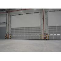 Wholesale High strength industrial sectional door with aluminum single panel from china suppliers