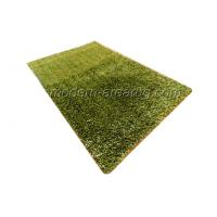 Wholesale Grass Green Polyester Shaggy Pile Rug, Hand Tufted Area Carpets Rugs For Indoor / Outdoor from china suppliers