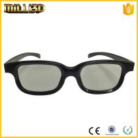 Wholesale factory passive circular/linear polarized 3d glasses for cinema from china suppliers