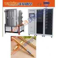 Wholesale PVD Gold Plating Machine on Pen, TiN Vacuum Coating Equipment Heat Resistant from china suppliers