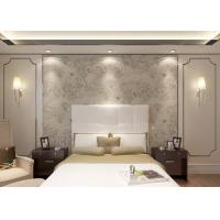 Wholesale Tear Resistant Floral Dining Room Wallpaper Creamy White Waterproof from china suppliers