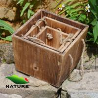 Wholesale Wood product » Wood planter & pot » Squared Shaped Wood Flower Planter for Garden from china suppliers