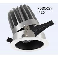 Wholesale Adjustable High CRI Aluminum 20W 3000K COB Tiltable Cut Out 110mm LED Downlight/R3B0629 from china suppliers