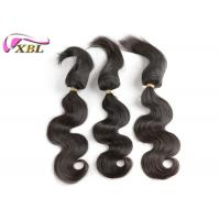 Wholesale Can Colored Well 100% Human Virgin Brazilian Hair Braid in Hair Extensions #1b from china suppliers