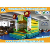 Wholesale Flower Theme Inflatable Bouncy Castle Rental , Kids Party Jumping Castle from china suppliers