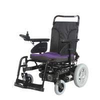 Buy cheap Powered wheelchair with heavy duty 136kgs loaded 64Ah battery from wholesalers