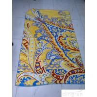 Wholesale New Design Custom Outdoor Beach Towel Double Velour Two Side Printed from china suppliers