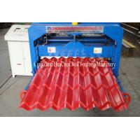Wholesale Hydraulic Wave Roof Glazed Tile Roll Forming Machine / Roll Form Equipment from china suppliers