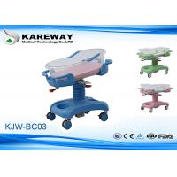 Wholesale 4 Casters Baby Sleeping Cot Bed , Baby Doll Hospital Bed 3 Functions Adjusted from china suppliers
