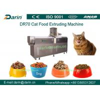 Wholesale DR70 SUS304 Multi function Cat Food Snacks Double Screw Processing Line from china suppliers
