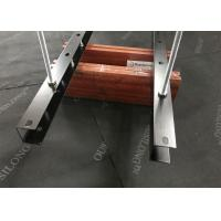 Buy cheap Commercial Office Suspended Baffle Ceiling / Modern Wood Drop Ceiling Panel from wholesalers