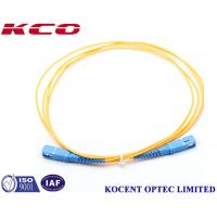 Buy cheap PVC/LSZH Fiber Optic Cable Patch Cord  SM  SC/UPC-SC/UPC 2.0mm from wholesalers