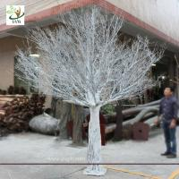Wholesale UVG DTR19 10ft Plastic artificial wedding wish dry tree for decoration from china suppliers