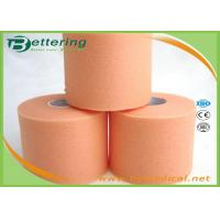 Wholesale Orange Colour Foam Bandage Underwrap Sports Tape Bandage 7cm x 27m Athletic Taping For Outdoor Activities from china suppliers