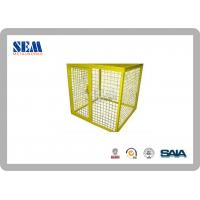 Wholesale Corrosion Protection Steel UL Certification Gas Metal Storage Cage Racking With 1.1m, 1.8m from china suppliers